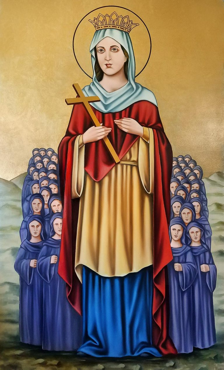 St. Demiana painting